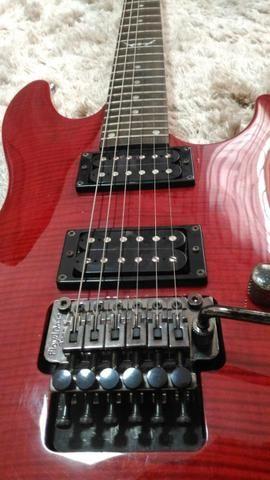 Guitarra Dean com ponte Floyd Rose - Foto 6