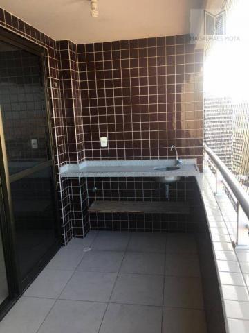 Apartamento com 2 dormitórios para alugar, 73 m² por R$ 2.020/mês - Meireles - Fortaleza/C - Foto 6