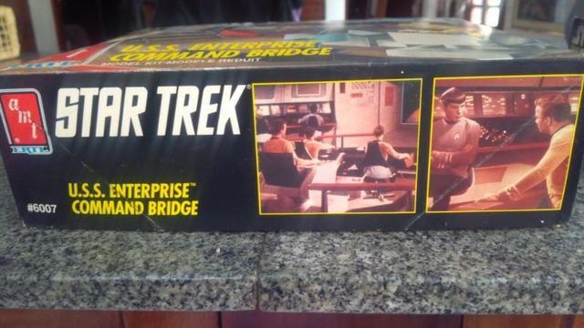 Star Trek Amt Ertl U.s.s. Enterprise Command Bridge Model - Foto 4