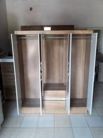 Promoção guarda-roupa 6 portas aramoveis Novo entrega grátis - Foto 4