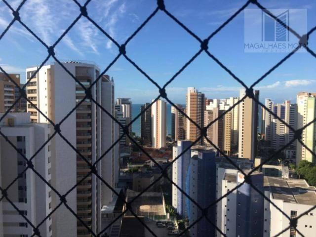 Apartamento com 2 dormitórios para alugar, 73 m² por R$ 2.020/mês - Meireles - Fortaleza/C - Foto 2