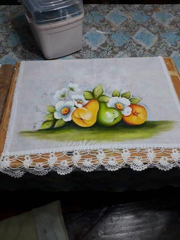 Curso de Pintura - Tecido, óleo e acrílica sobre tela - Foto 6
