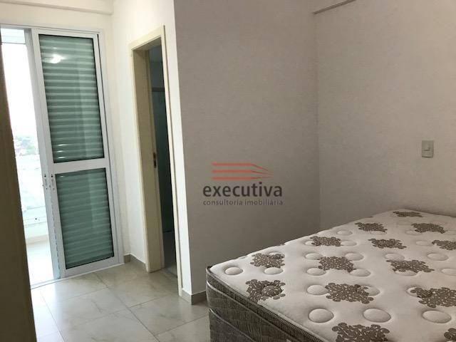 Apartamento com 1 dormitório para alugar, 57 m² por R$ 1.850,00/mês - Jardim das Colinas - - Foto 9