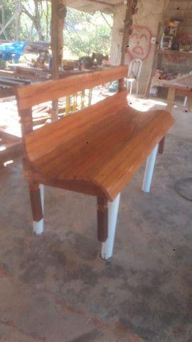 Fabricante de móveis em madeira de demolição e paletes - Foto 3
