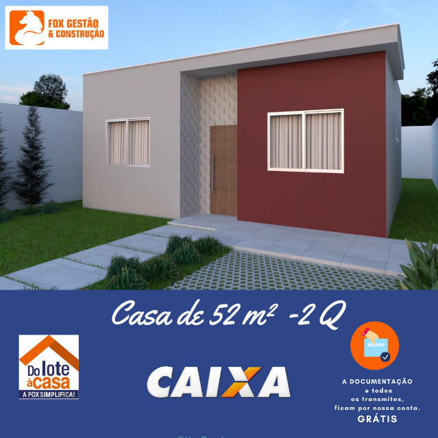 """Casa em Linhares ITBI-RGI """"Grátis"""""""