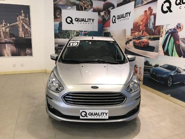 Ford - Ka 1.5 Sedan SE Plus 12V Flex 4p Mec - 2019 - Foto 2