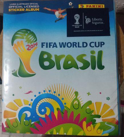 Álbum Fifa Copa Brasil 2014 completo