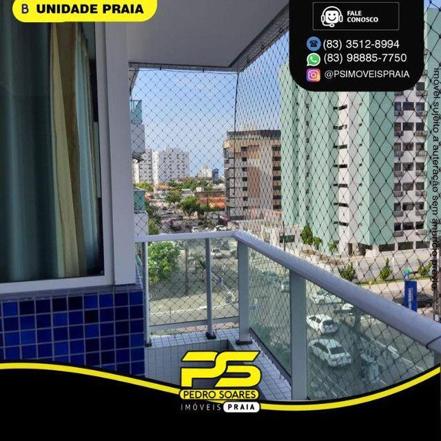 Apartamento com 3 dormitórios para alugar, 78 m² por R$ 3.500,00/mês - Tambaú - João Pesso - Foto 7