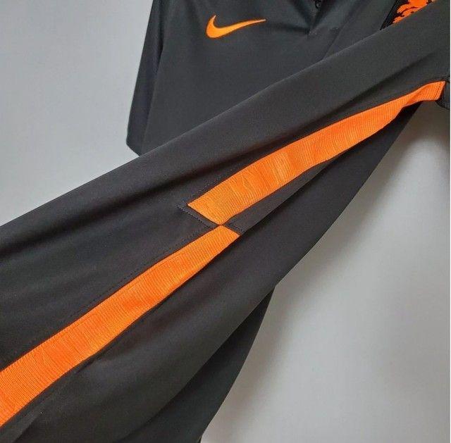Camisa Seleção Holandesa 20/21 PRETA - Foto 4
