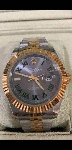 Relógio Rolex Oyster Perpetual Datejust a prova d'água Completo
