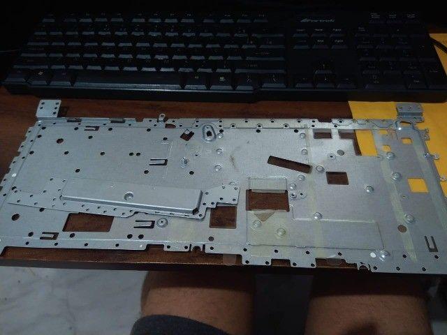 Moldura e dobradiças e carcaças de ferro Lenovo Ideapad 330 - Foto 2