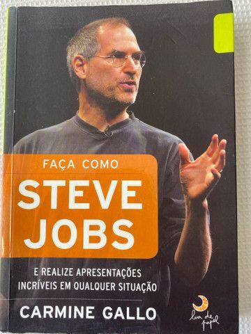 Livro Faça Como Steve Jobs - Carmine Gallo