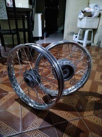 Roda para moto Honda - Foto 2