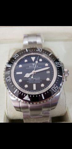 Relógio Rolex Deepsea Gas Escape automático a prova d'água Completo