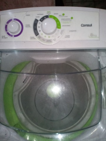 Vendo máquina de lava 8kg perfeita entrego e dou garantia - Foto 5