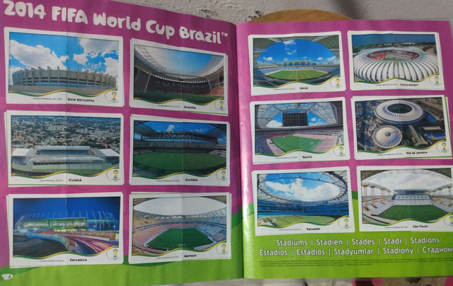 Álbum Fifa Copa Brasil 2014 completo - Foto 3