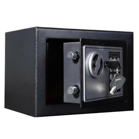 Cofre Eletrônico Digital Teclado Com Senha + 2 Chaves Sb17 wats 61 9 8135 9241