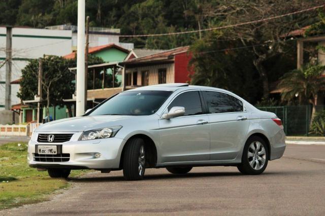 Honda Accord EX 3.5 V6 | Completo | Teto Solar | Couro | Automático