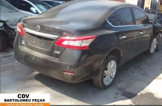 Peças Sucata Nissan Sentra 2.0 SI cvt 2014 - Foto 4