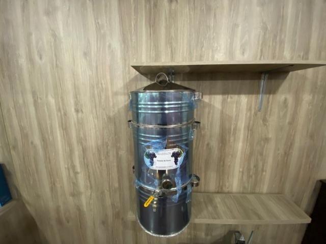Panela para suco de uva 20kg toda em inox (nova) - Foto 3