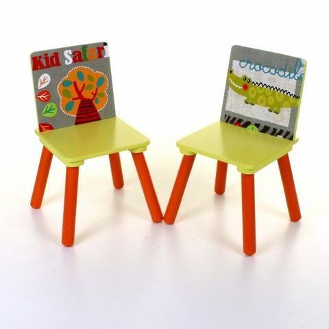 Conjunto Infantil Kit 1 Mesa E 2 Cadeiras Em Mdf-import - Foto 3