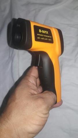 Pistola Para Medir Temperatura Com Laser De -50 A 550 ºc - Foto 3