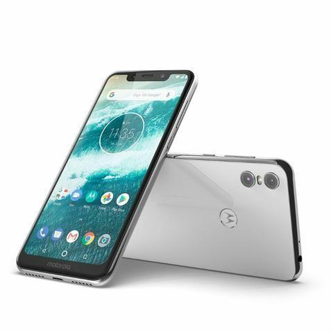 Smartphone Motorola One Branco 4/64GB - Foto 5