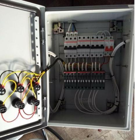 Cozinha cervejeira industrial tribloco elétrica - 450L - Foto 4