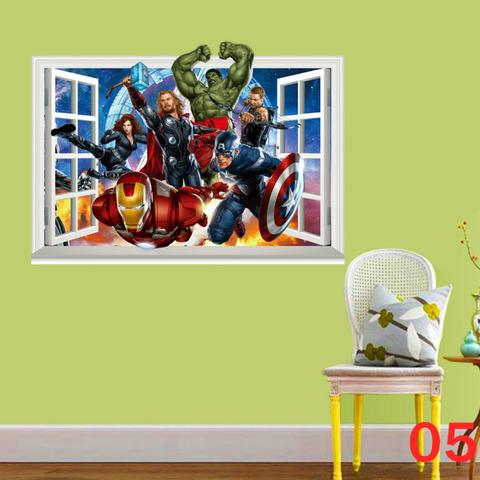 Adesivo Grande Vingadores Marvel! - Foto 4