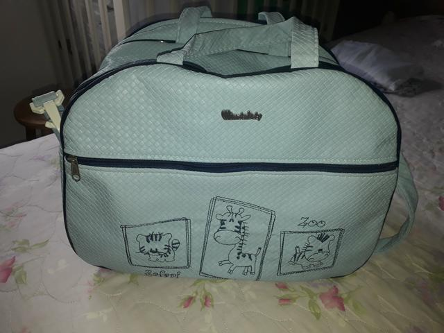Protetor de berço para menino e bolsa - Foto 5