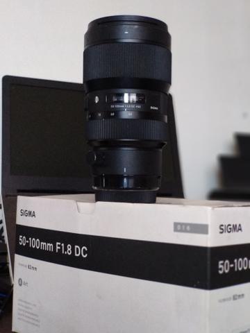 Lente Sigma ART 50-100 1.8 para Canon