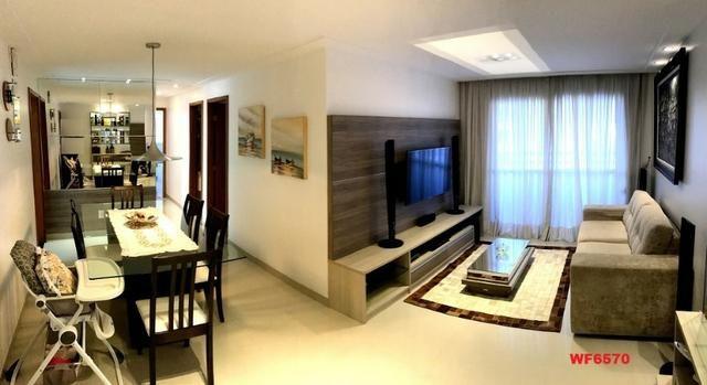 AP0967 Torre Espanha, apartamento na Aldeota, 3 suítes, móveis projetados, 2 vagas - Foto 5