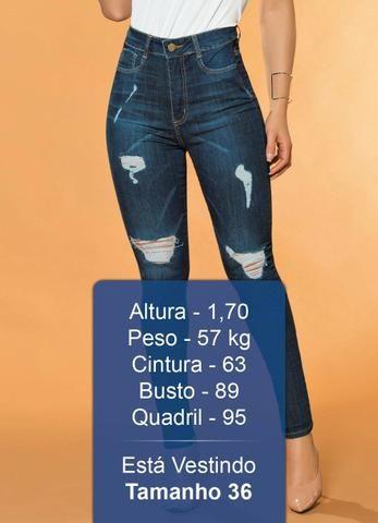 41bc9d6963 Sawary Jeans - Calça Super Lipo Destroyed Sawary Jeans - Roupas e ...