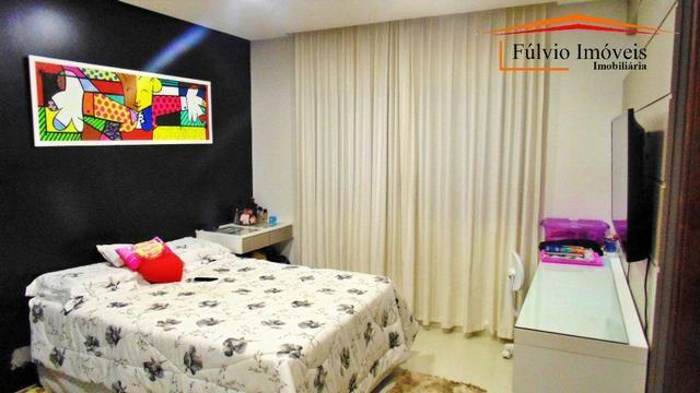 Magnífico sobrado moderno de alto padrão, 4 suítes, completo em armário e salão gourmet - Foto 9