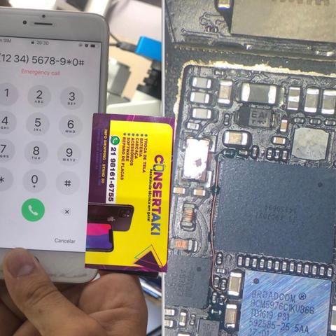 Reparo em placa de IPHONE - Foto 4