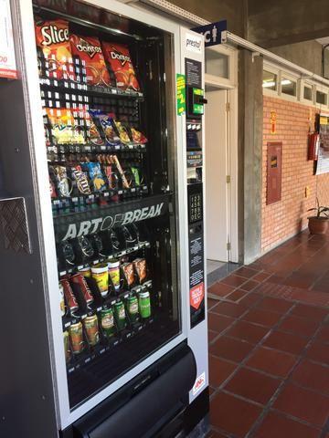 Maquina Vending Modelo Samba NW