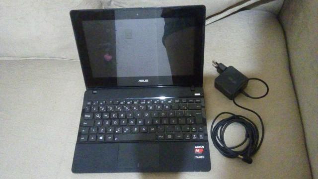 Netbook e teclado
