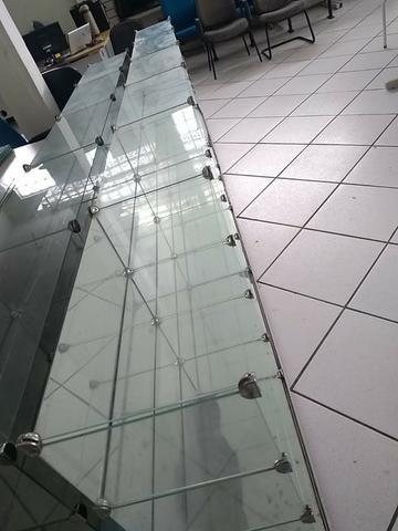 Balcão/Expositor de vidro temperado usado. Ótimas condições - Foto 3