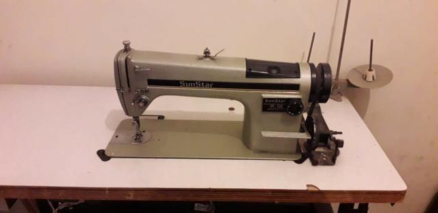 Máquina de Costura Reta Industrial Sunstar - Foto 2