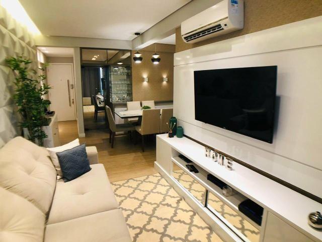 Apartamento com 77m2 Sendo 3 Quartos 2 Suítes - Foto 2