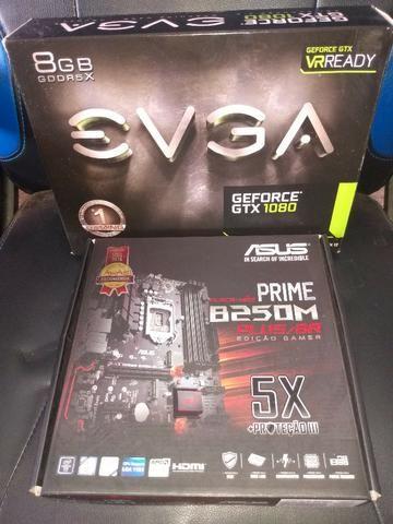 PC Gamer Intel I7 16gb memoria GTX 1080 Com Monitor LG Ultra Wide - Foto 4