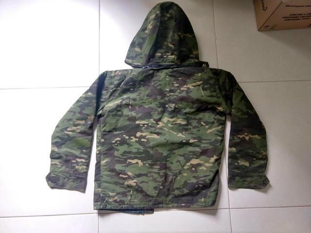 Jaqueta Camuflada tamanho M