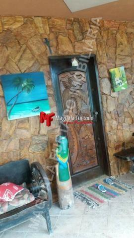 4028 - Casa de 4 quartos, área gourmet e fogão a lenha, total conforto Unamar - Foto 12