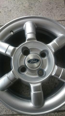 Rodas Ford Ka Fiesta Escort aro 14 lindos modelos - Foto 2