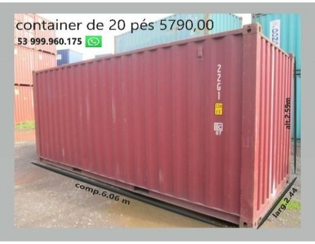 Container marítimo - temos o melhor preço - somos importadores