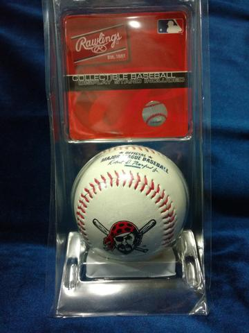 Bola de Baseball Rawlings Original Importada USA Pittsburgh Pirates - Foto 3