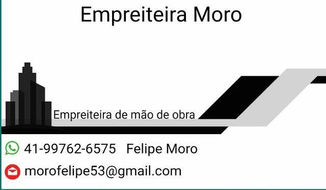 Empreiteira Moro, Mão de obra - Foto 2