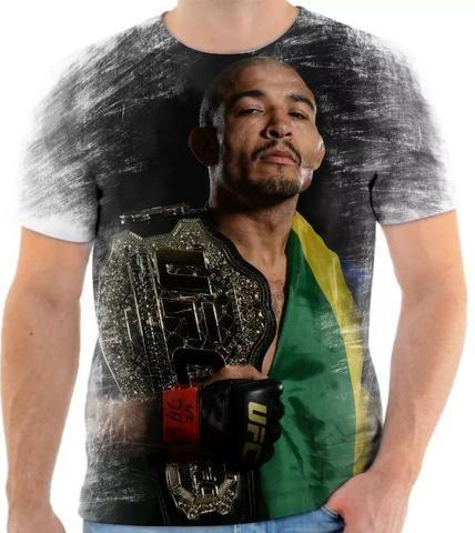 Par de Luva Couro preto Mma Ufc Vale Tudo Boxe Muay Thai Artes -Grátis Camisa J. Aldo - Foto 3