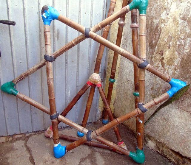 Pirâmide De Bambu Crossfit Yoga Playground - Foto 6