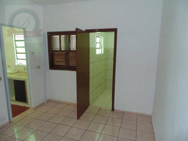 Casa com 1 dormitório para alugar, 50 m² por R$ 430,00/mês - Jardim Santa Izabel - Hortolâ - Foto 2